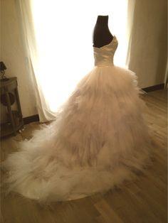 Magnifique Robe de mariée tulle et satin