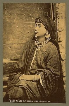 #Palestine - Jaffa Woman, 1889 | Community Post: 31 Unbelievable Photographs Israel Doesn't Want You To See!