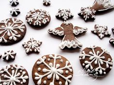 Vánoční perníčky recept a zdobení | Kreativní Techniky Gingerbread, Cookies, Desserts, Christmas, Food, House, Recipies, Crack Crackers, Tailgate Desserts