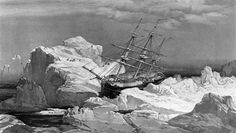The HMS Investigator, abandoned in the ice in 1853, was found in shallow water in Mercy Bay along the northern coast of Banks Island.