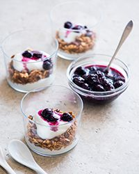 Blueberry Breakfast Parfait Recipe on Food & Wine