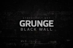 Free Texture Friday – Grunge Black Wall 3