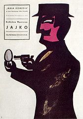 By Jan Lenica, 1 9 5 7, Jajko.