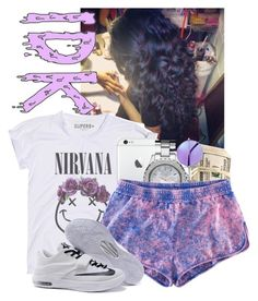 """""""Untitled #49"""" by x-og-neisha ❤ liked on Polyvore featuring moda, Michael Kors, H&M y NIKE"""