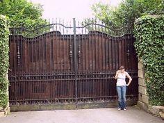 The Gates of Bono's house, Dublin,  Ireland