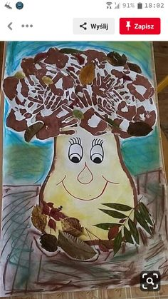 Projects For Kids, Diy For Kids, Art Projects, Crafts For Kids, School Age Activities, Autumn Activities, Mini Christmas Tree Decorations, Vegetable Crafts, Autumn Crafts