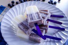 Summer Recipe: Blueberry Lemon Popsicles