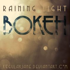 Raining Light Bokeh Pack by regularjane.deviantart.com on @deviantART