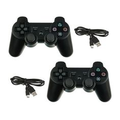 2-Pack: Bluetooth Wireless Playstation 3 Dual-Shock Controllers at 36% Savings off Retail!