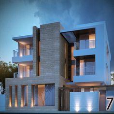 The beach house  500m  Al khairan pearl Sarah sadeq architects
