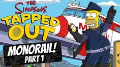 Image result for the simpsons tapped out monorail update