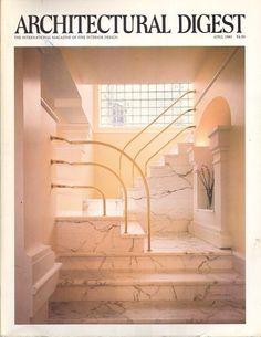 Architectural Digest Magazine - Apr 1983