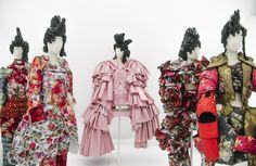 "I love Rei Kawakubo and I love what she has created with Comme des Garcons! Head to the MET to see this amazing exhibition! ""Art of the In-Between"" is a must see!!"