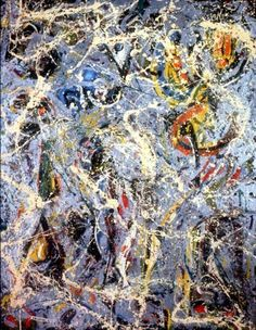 """Jackson Pollock's """"Galaxy"""""""