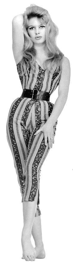 "Brigitte Bardot with 20"" waist"