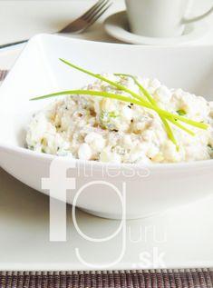 Tuňákový salát s cottage