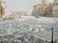 Winter Storm in Venice - Italy Italy Honeymoon, Italy Vacation, Italy Travel, Venice In Winter, Italy Winter, Bologna, Venice City, Travel Specials, Italy Pictures