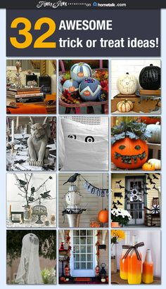 Trick or treat! A fabulous collection of all things Halloween in one clipboard on Hometalk.com, curated by Funky Junk Interiors.