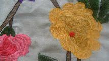 Flores em caseado