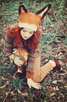Fantastic Mr. Fox costume to some extent, but otherwise a super cute fall outfit!
