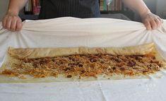 #3: Pravá ťahaná štrúdľa Butcher Block Cutting Board, Deserts, Basket, Desserts, Dessert