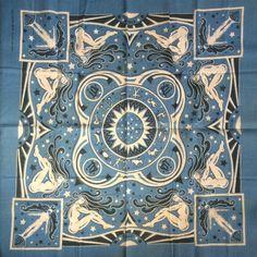 "bandannawanderings: ""Virgo Astrology Bandanna #rn14193 #bandanna #virgo #astrology @l2photo """