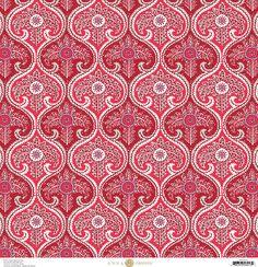 Anna Griffin - Madison Collection - 12 x 12 Paper - Twirler - Cherry at Scrapbook.com