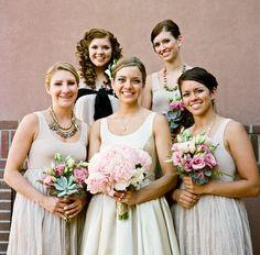 really cute bridesmaids dresses from AliceandOlivia.com</a
