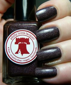 Nail of the Day: Philly Loves Lacquer - 2 AM Coffee Run
