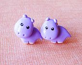 Cat Bear Express Cute Kawaii Polymer Clay by MadAristocrat on Etsy