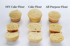 Diving into Cake Flour 101 - A fun visual guide to cake flour including what it is, how to substitute, and side-by-side comparisons so you can see how it works in action!