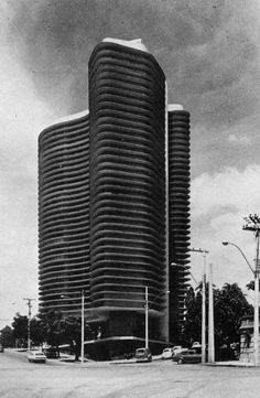oscar niemeyer. belo horizonte. 1960.
