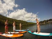 Stand Up Paddleboarding Classes in Fairfield County www.ct.mommypoppins.com