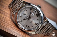 The new Rolex DayDate 40 in white gold - fully reviewed - tons of photos