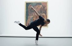 The jookin' dancer takes on iconic modern masters Picasso and Matisse in a moving tour of the museum's latest exhibition
