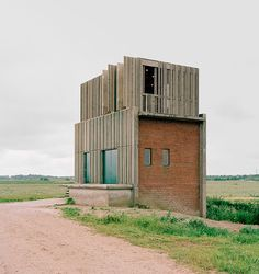 Johansen Skovsted Arkitekter convert 1960s pump stations into river viewing points