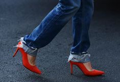 Best of Street Style Shoes from Spring '14 Fashion Weeks