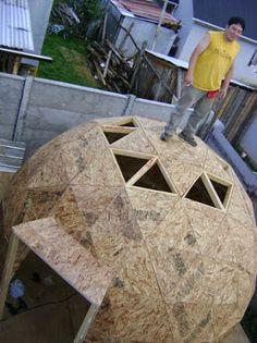 :: Adquiere La Formula Para Construir Un Domo Geodesico v4 Sin Complejos Conectores :: #architecture #wiecb