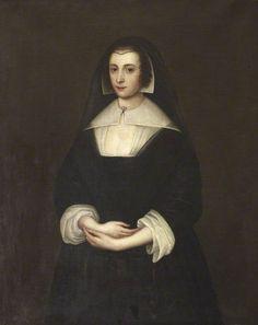 1/2. Penelope Gage (D'Arcy) (circa 1593–1661).