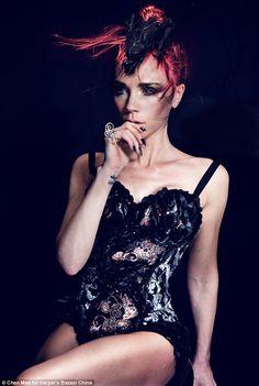 Victoria Beckham for Harper's Bazaar China