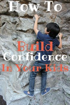 I've always wanted to instill confidence in my kids from a young age. These are great tips for raising and parenting confident kids.