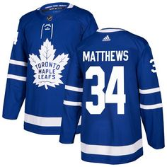 1492d780c Adidas Toronto Maple Leafs  34 Youth Auston Matthews Authentic Royal Blue  Home NHL Jersey Blue
