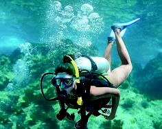 Scuba diving in Saint Lucia is in one of the most scenic settings the Caribbean has to offer.