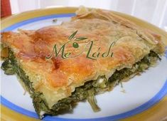 spanakopita grhgorh me sfoliata Cypriot Food, Greek Pita, Cheese Pies, Greek Cooking, Spanakopita, Greek Recipes, Food Processor Recipes, Food And Drink, Brunch