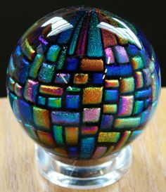 Hot House Glass ~ Mosiac Marbles