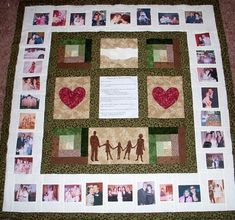 If you are looking for that perfect, unique gift for a special someone/occasion, you have found it! Photo Memory quilts make great gifts for EVERY occasion - Weddings, New baby, Anniversary, Birthday, Graduation, Christmas, Mothers Day, a memorial gift . . . You provide me with your Foto Quilts, Photo Memories, Memorial Gifts, Modern Wall Art, Custom Photo, Quilt Making, Quilt Patterns, Quilting Ideas, Quilting Projects