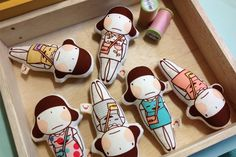 Miss Smile Fabric Doll Mini www.misssmile.co.kr 미니사이즈의 패브릭인형으로 6가지 종류가 있어요.