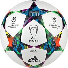 Adidas Finale Berlin is official final match ball of Champions League Uefa Champions League, Soccer Gear, Play Soccer, Soccer Ball, Uefa Football, Football And Basketball, Football Stuff, Soccer Players, Fifa Football