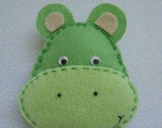 Hipopótamo de Feltro