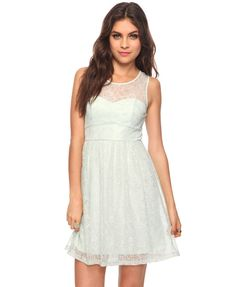 Lace white dress. 105